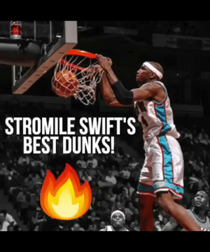 HBD Stromile Swift, one of the nastiest dunkers in NBA history!  https://t.co/IaCMnser9W: STROMILE SWIFTS  BEST DUNKS! HBD Stromile Swift, one of the nastiest dunkers in NBA history!  https://t.co/IaCMnser9W