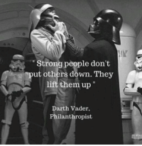 <h2>#FrasesMotivacionales</h2>: Strong people don't  ut others down. They  them up  Darth Vader,  Philanthropist <h2>#FrasesMotivacionales</h2>