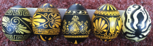oakashandwillow:  lifethe-universe-andeverything: Since I'm a giant Classics nerd I made some Greek pottery inspired Easter eggs   #no artistic trend in the last 3000 years has ever surpassed the time the minoans just went crazy for octopuses#just absolutely apeshit for cephalopods   : STS  gGE oakashandwillow:  lifethe-universe-andeverything: Since I'm a giant Classics nerd I made some Greek pottery inspired Easter eggs   #no artistic trend in the last 3000 years has ever surpassed the time the minoans just went crazy for octopuses#just absolutely apeshit for cephalopods