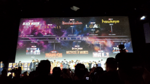 Doctor, Fall, and Winter: STUDDS  hawkeye  STUDIOS  STLDIOS  andaVision  BLACK WIDOW  STUDIDS  STLOIDS  LOK  ETERNALS  FALL 2021  SPRING 2021  SPRING 2021  NOVEMBER 6, 2020  MAY 1, 2020  F 0U  PHA S E  NOVEMBER 5, 2021  SUMMER 2021  MAY 7, 2021  FEBRUARY 12, 2021  FALL 2020  STUDIOS  STUDIOS  DOCTOR STRUNGE  THE FALCON  IN THE  THE  STS  WHAT F  WINTER SOLDIER  SOOIS  SHANG-CHMULVERSE OF MADNESS  LEGEND OF THE TEN RINGS  2CON  CON  T These new Marvel logos