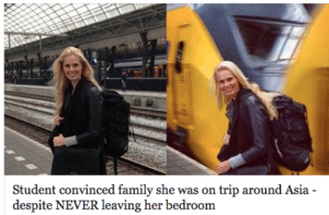 red-forman:  zackisontumblr:  jigglypuffsvevo:  fuckyahumor:  nokiabae:  peak performance art         : Student convinced family she was on trip around Asia red-forman:  zackisontumblr:  jigglypuffsvevo:  fuckyahumor:  nokiabae:  peak performance art