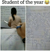 student of the year: Student of the year  r fhe audente  hit