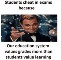 values in education system