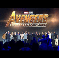 Such a marvelous cast but too bad cap's missing avengers avengersinfinitywar d23expo d23expo2017 mcu marvel: STUDIO  VENGERS Such a marvelous cast but too bad cap's missing avengers avengersinfinitywar d23expo d23expo2017 mcu marvel