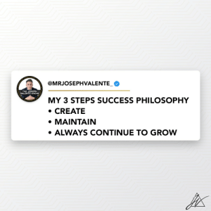 Success requires a strategy too. Keep it simple.   I have created a 3 step philosphy and used it in many areas in life and business to success.   I am happy to share it with you, so you can succeed too. https://t.co/8Wp16RjWxv: Success requires a strategy too. Keep it simple.   I have created a 3 step philosphy and used it in many areas in life and business to success.   I am happy to share it with you, so you can succeed too. https://t.co/8Wp16RjWxv