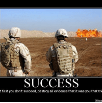 Memes, 🤖, and Destroyer: SUCCESS  t first you don't succeed, destroy all evidence that it was you that tri
