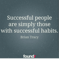 Double tap if you agree!: Successful people  are simply those  with successful habits.  Brian Tracy  found Double tap if you agree!