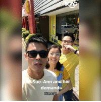 THE MINIONS ARE HERE AT MACS but Bobby totally ruined Xiao Ming's date with Sue Ann!!!! 😡😡 sp: Sue-Ann and her  demands  Wassup THE MINIONS ARE HERE AT MACS but Bobby totally ruined Xiao Ming's date with Sue Ann!!!! 😡😡 sp