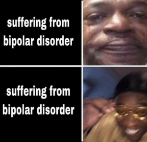 Meirl by Mar275 MORE MEMES: suffering from  bipolar disorder  suffering from  bipolar disorder Meirl by Mar275 MORE MEMES