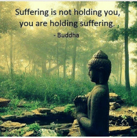 Memes, Buddha, and Keep Calm: Suffering is not holding you,  you are holding suffering  - Buddha Keep calm and let that 💩go