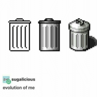 Glo Up, Memes, and Evolution: sugalicious  evolution of me My glo up~Eggplant —————————————–——— ❤️Follow for more!❤️ ——————————–—————— Admins: 🐱Jess: @they.all.die 💀Death: @killerbookswithkillerfeels 🍆Eggplant: @edwinwilke.photography 🦄Unicorn: @interweb.posts ——————————–——