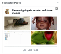 me irl: Suggested Pages  have crippling depression and share  memes  1 Reasons to Live  Search Reasons to Live  Date modified  Desktop  Downloads  Documents  This PC  Network  Like Page me irl