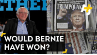 Would Bernie have won? Some lessons from the general election.: Sulsmic creating shockwaves  on both sides of the Atlantic...  UNRIVALLEDREPORTSANDANALISIS.  WOULD BERNIE  HAVE WON? Would Bernie have won? Some lessons from the general election.