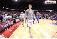Philadelphia 76ers, Bbb, and Memes: SUMMER DLEAGUE No BBB kicks tonight. Lonzo Ball wearing Kobe's against the 76ers.