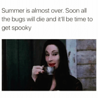 Boo, Funny, and Soon...: Summer is almost over. Soon all  the bugs will die and it'll be time to  get spooky Yaaasss my fave time of year @thespeckyblonde 😈🙌🏻 rp my boo @thespeckyblonde @thespeckyblonde @thespeckyblonde