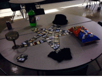 Summoning a neckbeard.: Summoning a neckbeard.