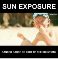America, Baked, and Bodies : SUN EXPOSURE  IG: @HARMONICELEVATION  CANCER CAUSE OR PART OF THE SOLUTION? @Regran_ed from @harmonicelevation - The liver and kidneys become so plugged and toxic that the blood has to push the toxins through the skin, where it then gets BAKED by the sun into the skin cells causing melanoma. Wrinkles increase when people eat lots of sugar and sweet food, which cross links the proteins within your skin, thus weakening it. - Don't blame the sun it just intensifies your condition. Sunscreen is one of the most toxic things you can put on your skin and is actually the cause of many skin cancers. Look at the label, you are literally baking on those chemicals into your skin cells, which open up when they get hot from the sun. Sunscreen blocks your bodies natural ability to produce vitamin d3 from the Suns uvb rays, which is by far the best form of vitamin d. Vitamin d deficiency is an epidemic in America. This deficiency can lead to aggressive forms of skin cancer. - Vitamin d protects the body from disease. Vitamin d is created when sunlight hits your skin which helps remineralize your bones and teeth, it oxygenates your skin, lowers blood pressure, helps heal wounds and bones faster, and improves eyesight! The Suns rays contain infrared energy which detox the body, and uv rays to cleanse and sterilize our skin of bacteria and fungus. We are meant to be in the sun. People who don't get enough sunlight get all kinds of physical, mental, and emotional problems. Bones soften, depression settles in, and the highest places of suicide are in the places with the LEAST amount of SUN. - If you want to learn more about this subject check out the article on my website. Link in bio! - Credit: Markus Rothkranz Harmonicelevation - regrann