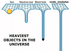 Using the 1gb module for concatenating two strings: Sun  Neutron star Black hole node_modules  HEAVIEST  OBJECTS IN THE  UNIVERSE Using the 1gb module for concatenating two strings