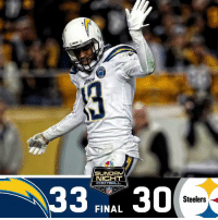 SUNDAY  NICHT  33 RBA 30  NFL  Steelers  FINAL FINAL: The @Chargers win on #SNF! #FightForEachOther #LACvsPIT  (by @Lexus) https://t.co/0VdgEuv6QK