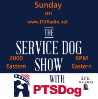 Memes, Radio, and Access: Sunday  on  www.DVRadio.net  THE  SERVICE DOG  8PM  Eastern  2000  Eastern  WITH 。  RADIO  A PTSDog This week on The Service Dog Show with PTSDog, I talk with a Veteran (whose name is withheld to avoid retaliation from the VA) about her struggles with access being denied her and her Service Dog(s) by the VA, and what steps we're taking to address this injustice. Listen to the full story Sunday, February 10th at 2000 (8:00 PM) Eastern only on DVRadio.net!