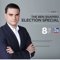 Memes, News, and Fox News: SUNDAY  THE BEN SHAPIRO  ELECTION SPECIAL  PM 1 Fox  channel TOMORROW: @officialbenshapiro breaks down the Kavanaugh accusations, the hearings and D.C. hypocrisy on the second edition of The Ben Shapiro Election Special. Tune in at 8p ET on Fox News Channel.