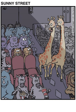If These Animal Comics Don't Make You Laugh, Nothing Will: SUNNY STREET  SUNNY STREET 2011 Max Garcia If These Animal Comics Don't Make You Laugh, Nothing Will