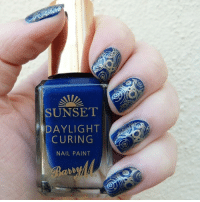 Doctor Who Nail Art <3 <3: SUNSET  DAYLIGHT  CURING  NAIL PAINT  0 Doctor Who Nail Art <3 <3