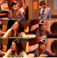 HannahMontana someone tell netflix to get old disney shows back on there (AND YES I KNOW LILY IS LILLY): Sup, Jake? Sup?  Lily, you dropped something.  Your dignity!  Are Too Man  n For Good  BESTSCENESIG  What? HannahMontana someone tell netflix to get old disney shows back on there (AND YES I KNOW LILY IS LILLY)