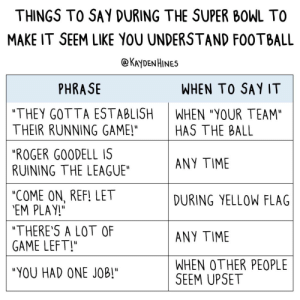 Super Bowl guide: Super Bowl guide