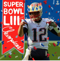 Memes, Nfl, and Patriotic: SUPER  BOWL  LIll  PATRIDTS  NFL The @Patriots are Super Bowl LIII Champions 🏆 | ✍created using Galaxy Note9 (by @SamsungMobile) https://t.co/XThTvBgR2g