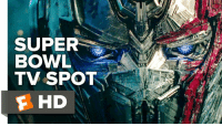 Bumblebee & Optimus Prime go head-to-head in this epic new 'Transformers: The Last Knight' Super Bowl Spot!: SUPER  BOWL  TV SPOT  E HD Bumblebee & Optimus Prime go head-to-head in this epic new 'Transformers: The Last Knight' Super Bowl Spot!