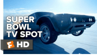 Memes, 🤖, and Wrecking Ball: SUPER  BOWL  TV SPOT  F HD 'The Fate of The Furious' Super Bowl spot busts in like a wrecking ball.