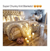 Cyber Monday, Monday, and Girl Memes: Super Chunky Knit Blankets! 50% off Cyber Monday Sale at @shop_alta! Shop-alta.com Someone buy me one please I'm cold 🤗