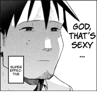 anime_irl: SUPER  EFFEC  TIVE  GOD.  THAT'S  SEXY anime_irl