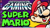 Check out the latest Did You Know Gaming?, Super Mario World! Feat. JonTron  https://www.youtube.com/watch?v=rL_DtT1O6Yc&list=PL26D7E5A7D29CCAB3: SUPER  MARIO Check out the latest Did You Know Gaming?, Super Mario World! Feat. JonTron  https://www.youtube.com/watch?v=rL_DtT1O6Yc&list=PL26D7E5A7D29CCAB3