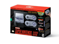 We appreciate the incredible anticipation that exists for the Super Nintendo Entertainment System: Super NES Classic Edition system, and can confirm that it will be made available for pre-order by various retailers late this month.   A significant amount of additional systems will be shipped to stores for launch day, and throughout the balance of the calendar year.: SUPER ninTENDO ENTERTAINmENT SYSTEm  NEVER RELEASED  GAMES INCLUDED!  AUX  NCLUS  MARIO WORLD  Nintendo  more  SUPER NINTENDO  CLASSIC  EDITION We appreciate the incredible anticipation that exists for the Super Nintendo Entertainment System: Super NES Classic Edition system, and can confirm that it will be made available for pre-order by various retailers late this month.   A significant amount of additional systems will be shipped to stores for launch day, and throughout the balance of the calendar year.