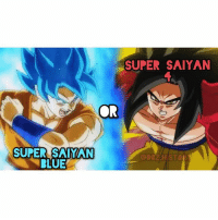 Anime, Bulma, and Dragonball: SUPER SAIYAN  CR  SUPER SAIYAN  BLUE  ODEZAHISTORY I love the design for 4. So to me SSJ 4 is soooo much better. Goku Vegeta Beerus Whis Xenoverse2 goten trunks bulma chichi Gohan otaku ssj ssj2 ssj3 ssj4 anime Zwarriors SuperSaiyanBlue Dragonball DragonballZ DragonballGT DragonballSuper Db Dbz Dbgt Dbs anime NamcoBandai over9000