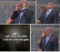 """Meme, Smashing, and Super Smash Bros: super smash bros melee  is the best smash bros game <p>This meme format looks promising - lot of versatility. Invest but remain cautious via /r/MemeEconomy <a href=""""http://ift.tt/2wPDn9I"""">http://ift.tt/2wPDn9I</a></p>"""