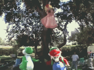 Party, Smashing, and Tumblr: super-smash-pink-yoshi-bros: suppermariobroth:  Behind-the-scenes footage from the recording of the Mario Party 4 commercial. Main Blog | Twitter | Patreon | Store | Source  Yoshi did nothing wrong.