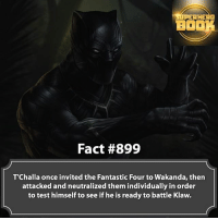 What are your thoughts on T'Challa? - marvel superhero facts marvelfacts supervillain rocketracoon spiderman marveluniverse anime marvelstudios xmen daredevil avengers comics mcu marvelart marvelcomics teamcap civilwar teamironman ironman avengers deadpoolmovie blackpanther captainamerica deadpool blackpanther captainamericacivilwar ===================================: SUPERHERO  BIO  Fact #899  T'Challa once invited the Fantastic Four to Wakanda, then  attacked and neutralized them individually in order  to test himself to see if he is ready to battle Klaw. What are your thoughts on T'Challa? - marvel superhero facts marvelfacts supervillain rocketracoon spiderman marveluniverse anime marvelstudios xmen daredevil avengers comics mcu marvelart marvelcomics teamcap civilwar teamironman ironman avengers deadpoolmovie blackpanther captainamerica deadpool blackpanther captainamericacivilwar ===================================