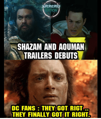 Batman, Memes, and Shazam: SUPERHERO  NATION  SHAZAM AND AQUMAN  TRAILERS DEBUTS  DC FANS THEY COT RICT  THEY FINALLY GOT IT RIGHT Is the DCEU on the right path now ? Sdcc Shazam Blackpanther Mcu Marvel dc dccomics dceu dcu dcrebirth dcnation dcextendeduniverse batman superman manofsteel thedarkknight wonderwoman justiceleague cyborg aquaman martianmanhunter greenlantern venom spiderman infinitywar avengers avengersinfintywar ironman thanos