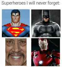 Never, Superheroes, and Will: Superheroes I will never forget: https://t.co/FY6p7HhfM8