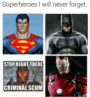 https://t.co/l0NuizlyJg: Superheroes I will never forget:  STOPRIGHT THERE  CRIMINAL SCUM https://t.co/l0NuizlyJg