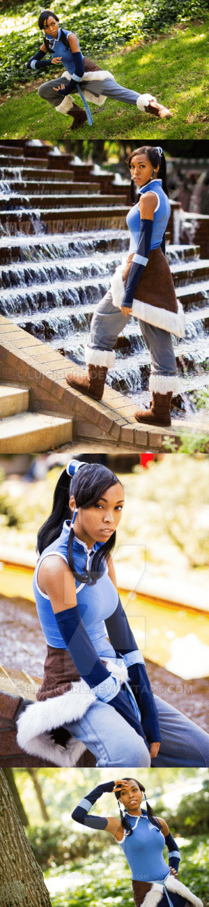Books, Facebook, and Ken: superheroesincolor:   Korra Cosplay by Luigigurl  Photography by Ken AD Photography Get the books and tv series here  [ Follow SuperheroesInColor on facebook / twitter / tumblr ]