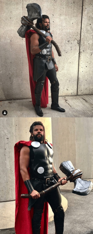 Facebook, Family, and Instagram: superheroesincolor: Thor #Cosplay by  bennubazz    Get the comics / movies here [Follow SuperheroesInColor faceb / instag / twitter / tumblr / pinterest]