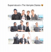 who supernatural thevampirediaries: Supernatural x The Vampire Diaries  DAILY WINCHESTERPOSTS who supernatural thevampirediaries