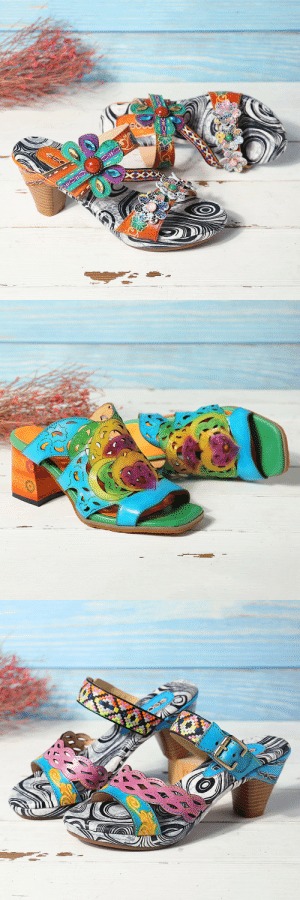 superpresentworld: Want These Lovely Retro Floral Leather Hand-made Socofy Sandals?  For Ladies who are fancy about floral trends, Socofy is the perfect choice for you. The collision between modern fashion and Chinese ethnic elements brings you the a fresh experience of folk vintage style.    Socofy shoes are hundred percent hand-made leather shoes. These comfortable shoes are patched and stitched by craftsman with a whole geniune leather material to ensure the comfort and softness of shoes.  Want to find more styles about Socofy? Click Here : superpresentworld: Want These Lovely Retro Floral Leather Hand-made Socofy Sandals?  For Ladies who are fancy about floral trends, Socofy is the perfect choice for you. The collision between modern fashion and Chinese ethnic elements brings you the a fresh experience of folk vintage style.    Socofy shoes are hundred percent hand-made leather shoes. These comfortable shoes are patched and stitched by craftsman with a whole geniune leather material to ensure the comfort and softness of shoes.  Want to find more styles about Socofy? Click Here