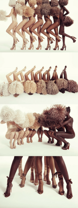 Target, Tumblr, and Blog: superselected: Christian Louboutin Unveils Latest Nude Shoe Collection.