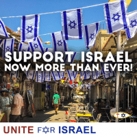 Memes, Israel, and Time: SUPPORT ISRAEL  NOW MORE THAN EVER  UNITE FR ISRAEL It's time to STAND UP and SPEAK UP for Israel!