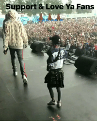 Belgium, Love, and Memes: Support & Love Ya Fans Migos brought some fans on stage at their show in Belgium 🇧🇪🙏 @migos https://t.co/KN5i0yzGO0